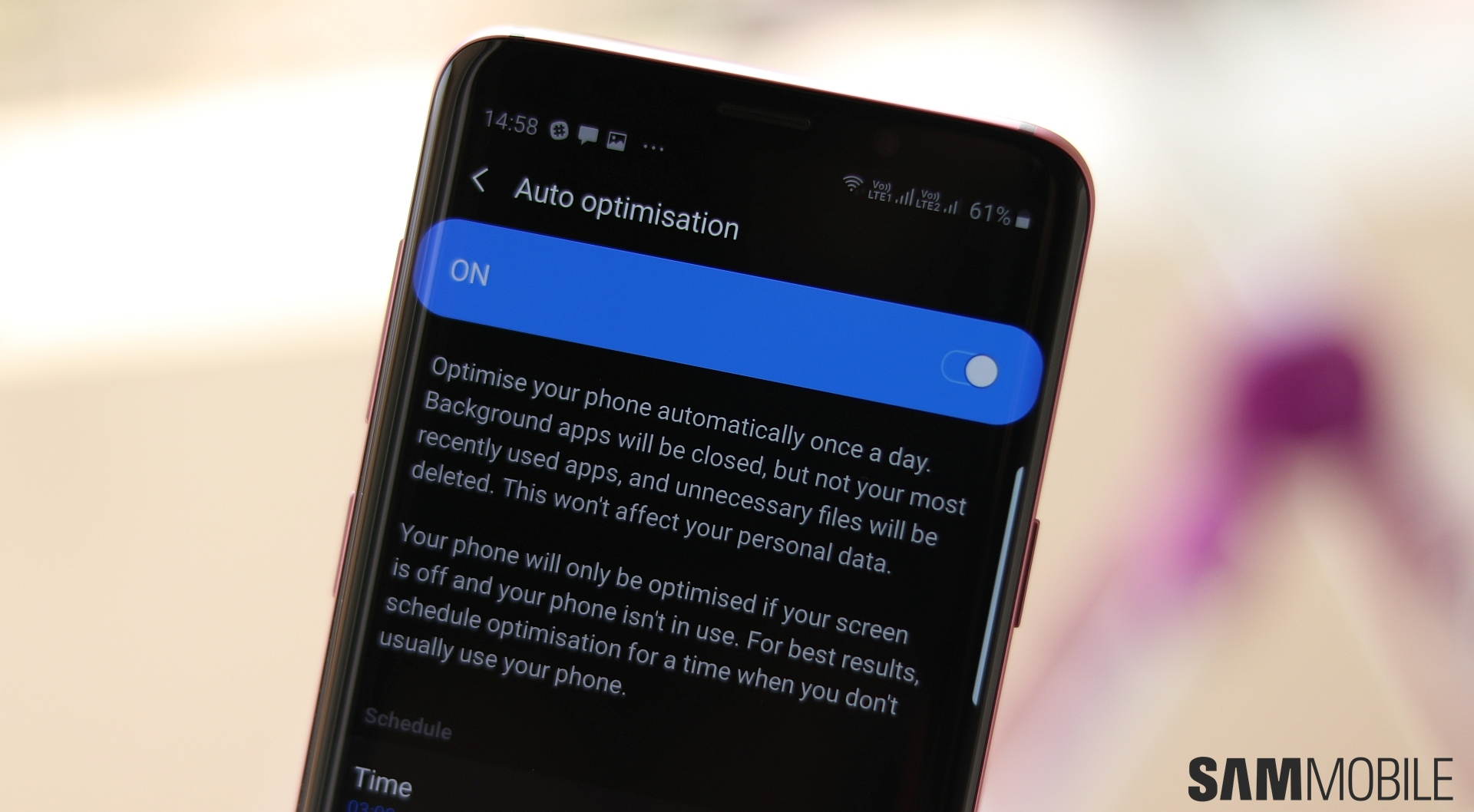 One UI (Android 9) feature focus: Free up memory and storage