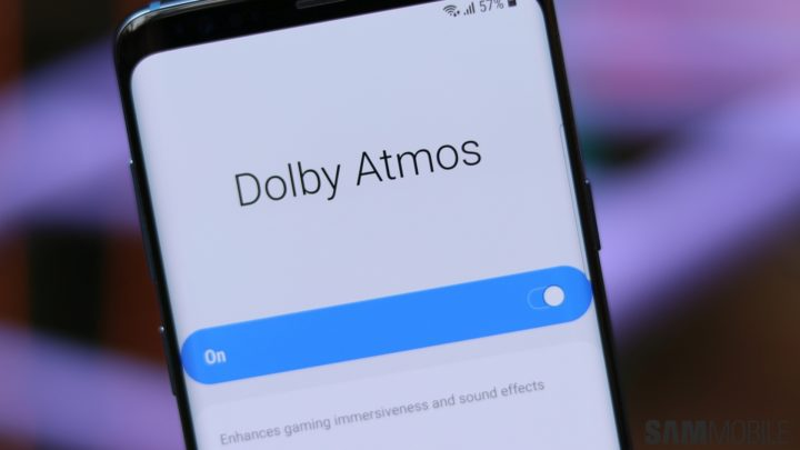 PSA: Galaxy S8 and Note 8 get Dolby Atmos support with
