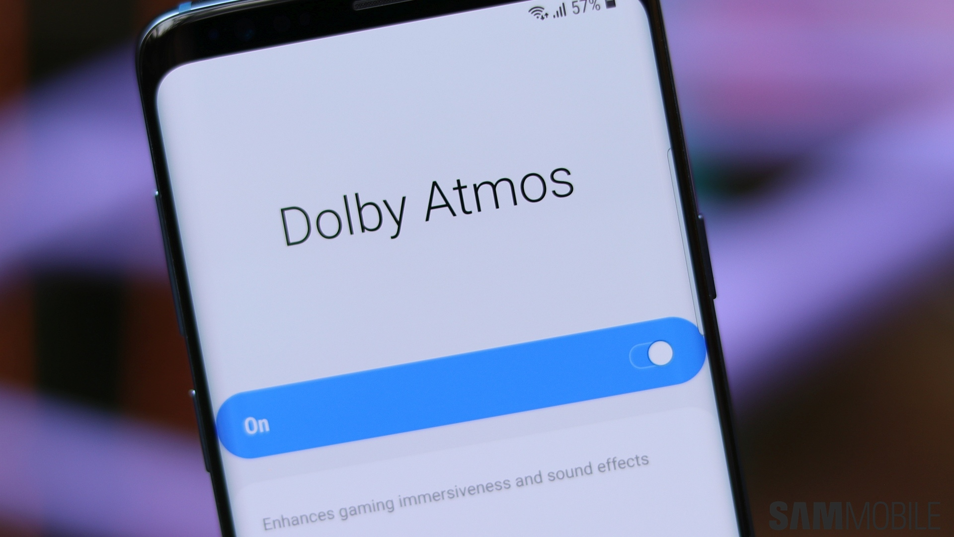 PSA: Galaxy S8 and Note 8 get Dolby Atmos support with Android Pie