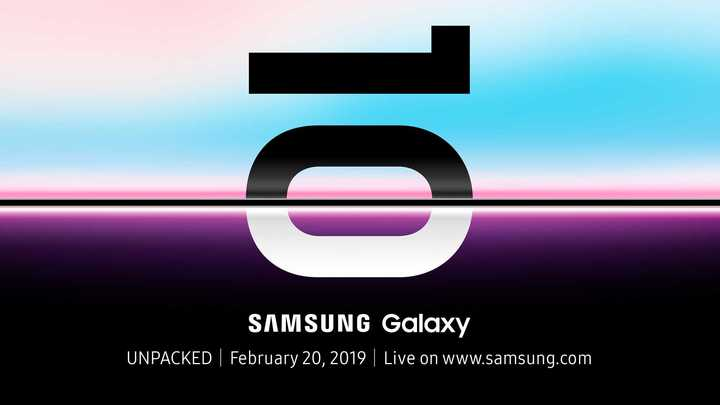 Galaxy S10 launch date