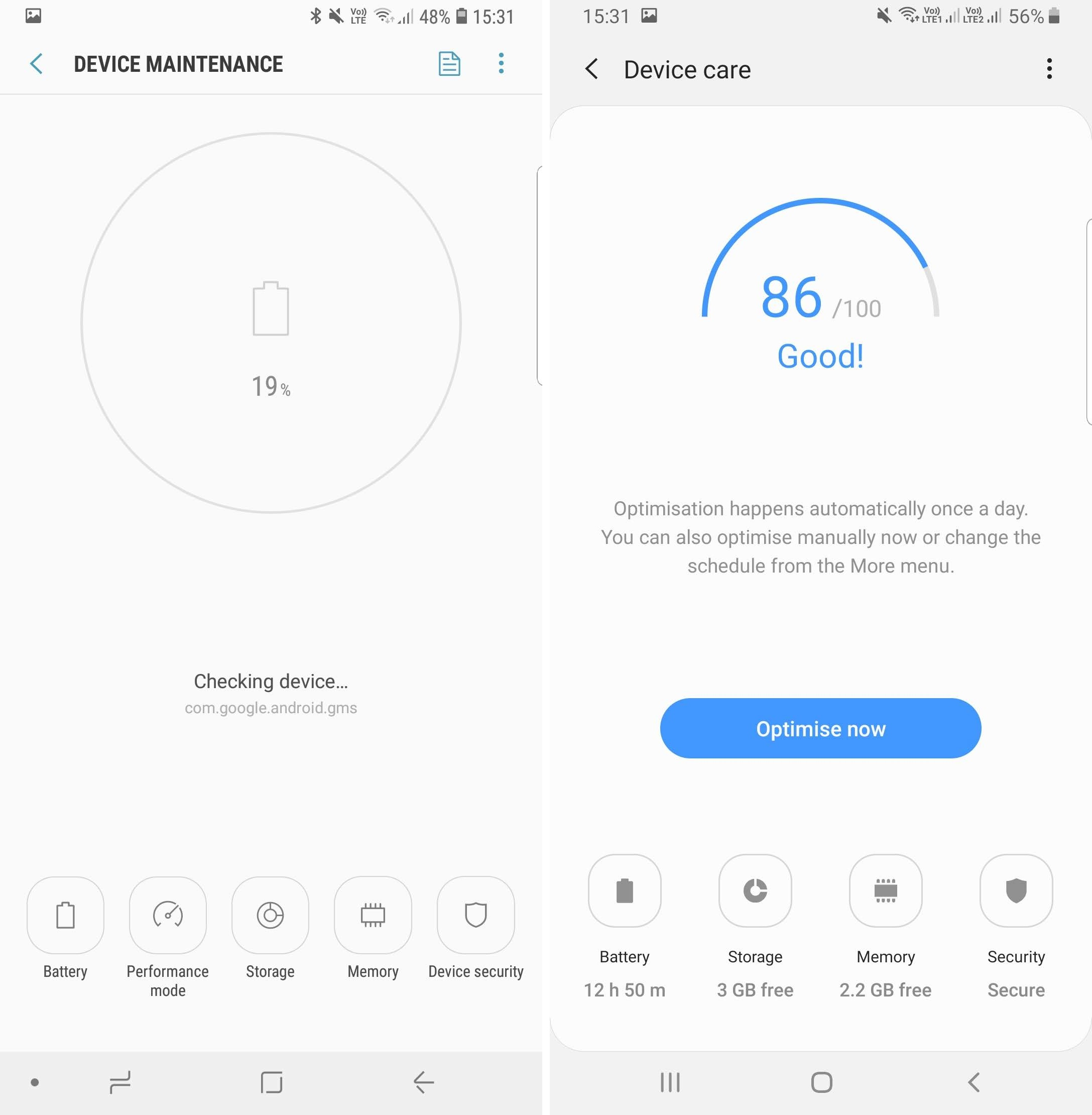 Samsung Experience Oreo Vs One Ui Android Pie In Screenshots