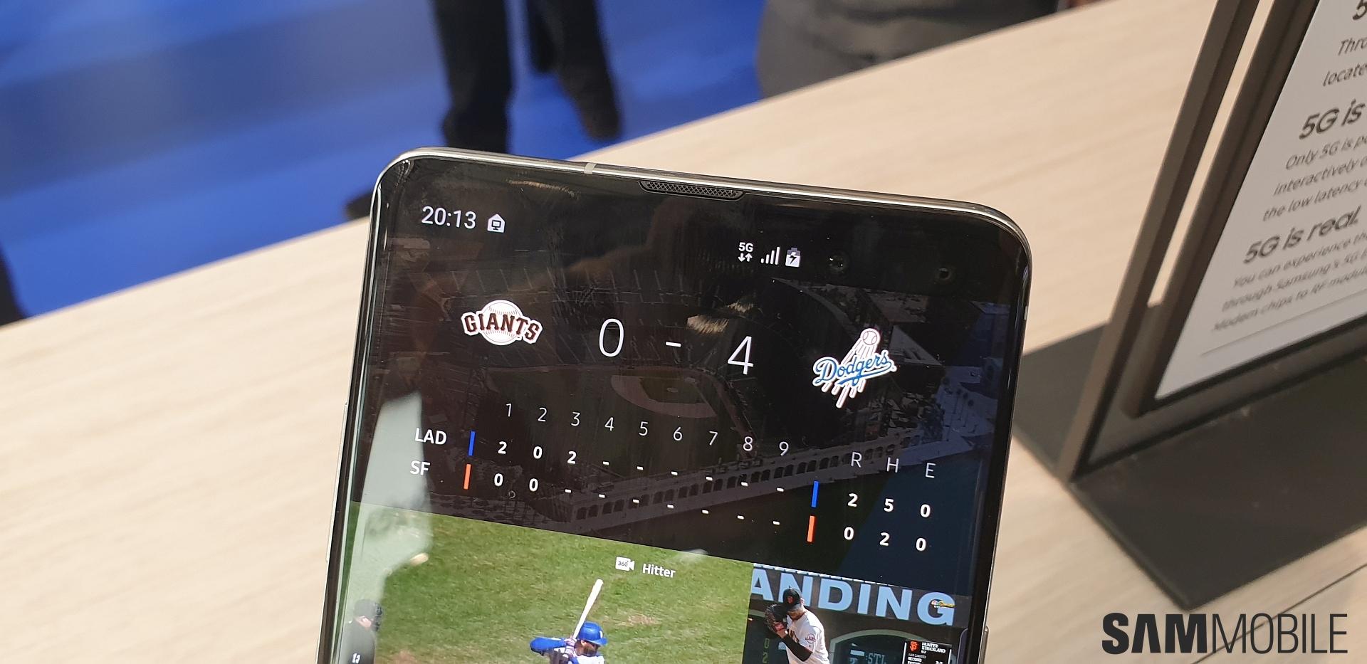 Samsung Galaxy S10 5G hands-on: Bigger is better - SamMobile