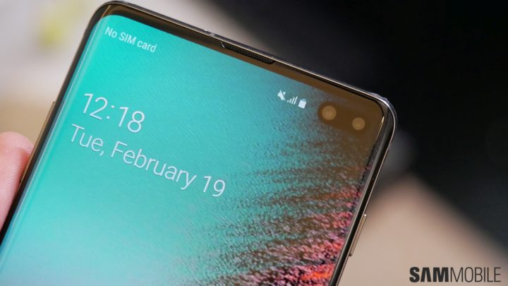 PSA: Samsung Galaxy S10 doesn't have a notification LED