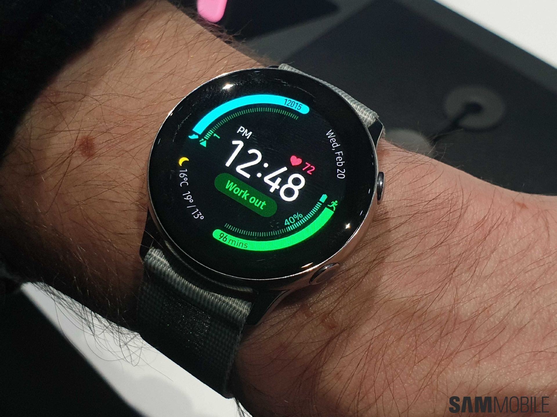 36 Off The Samsung Galaxy Watch Active Smartwatch Sammobile