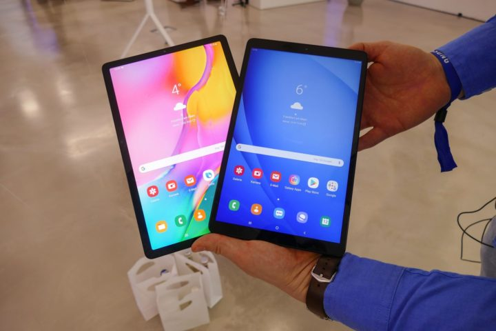 Galaxy Tab A 10.1 (2019) unveiled with metal body, Android Pie (One UI)