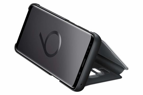 samsung clear view case