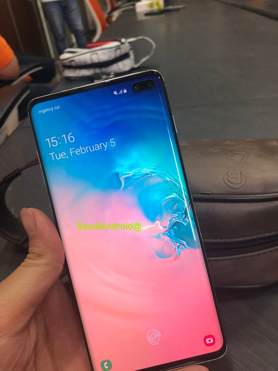 These Galaxy S10 Live Images Confirm In Display Fingerprint Sensor