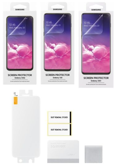 Official Samsung Galaxy S10 screen protectors