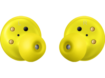 Yellow Galaxy EarBuds