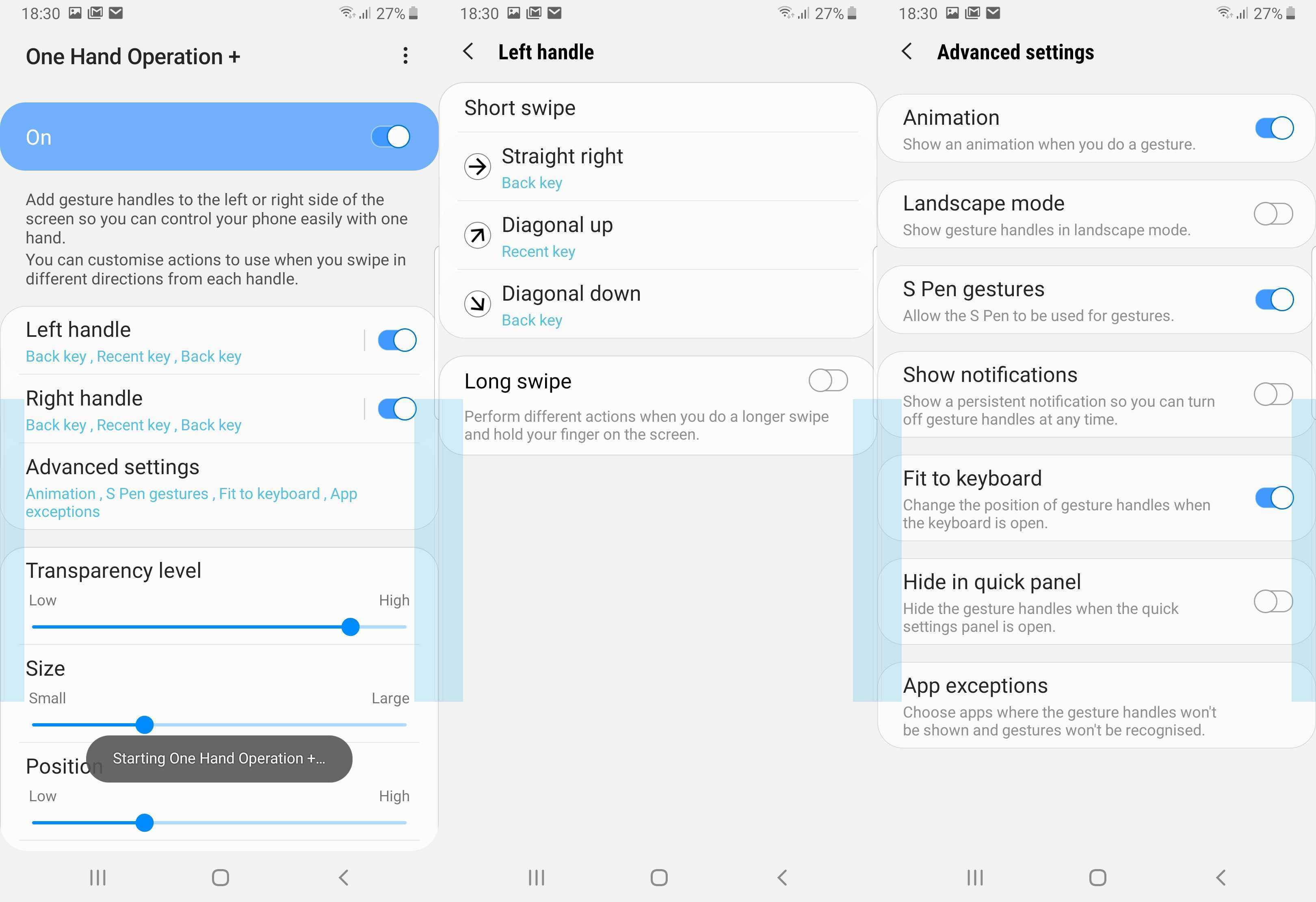 Samsung releases One Hand Operation+ Good Lock feature on