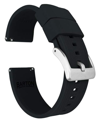 Barton Silicon Elite bands (best galaxy watch band)