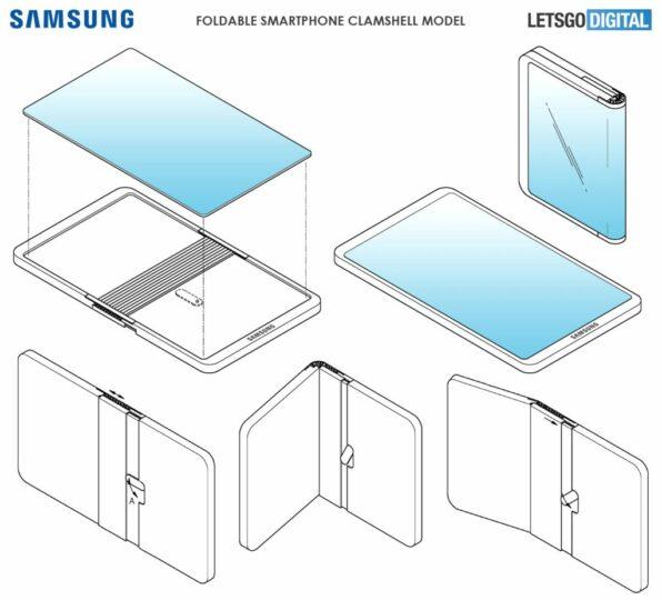 samsung dual folding screen