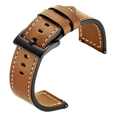 Kartice Leather Wrist Band (best galaxy watch band)