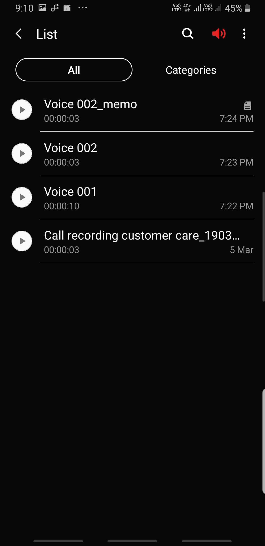 Samsung Voice Recorder app update brings Night mode and more - SamMobile
