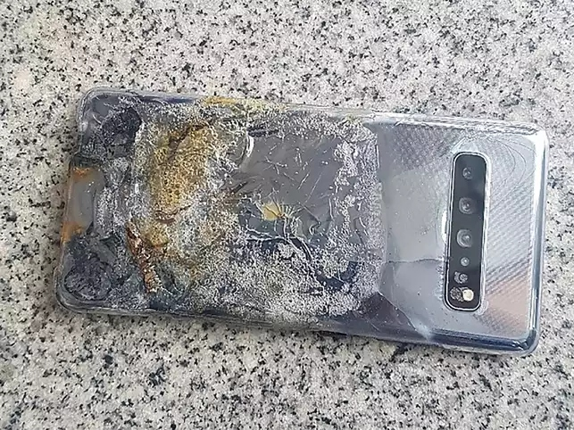 Burnt' Galaxy S10 5G not a cause of device malfunction, says
