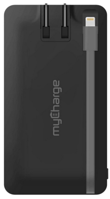 myCharge Home&Go Portable Charger 4000mAh