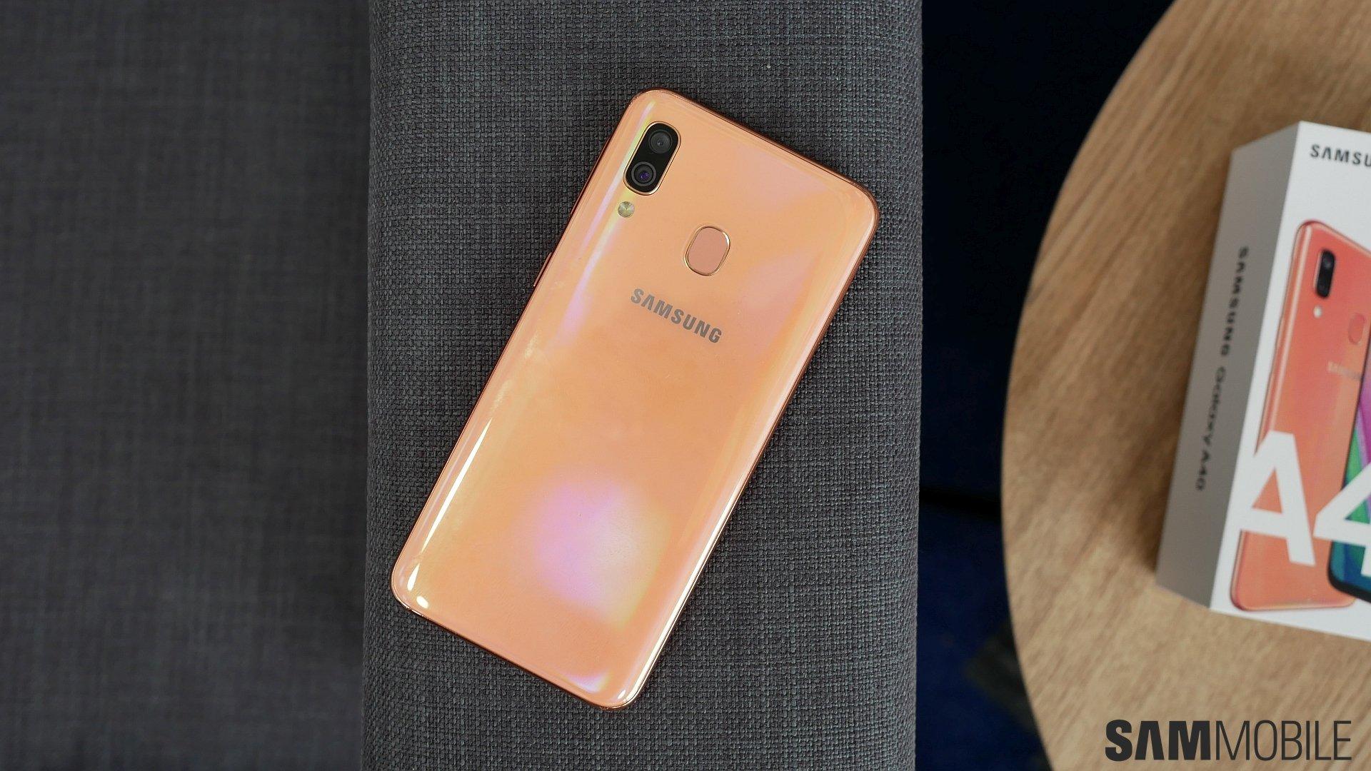Samsung Galaxy A40 review: A compact no-frills mid-range smartphone