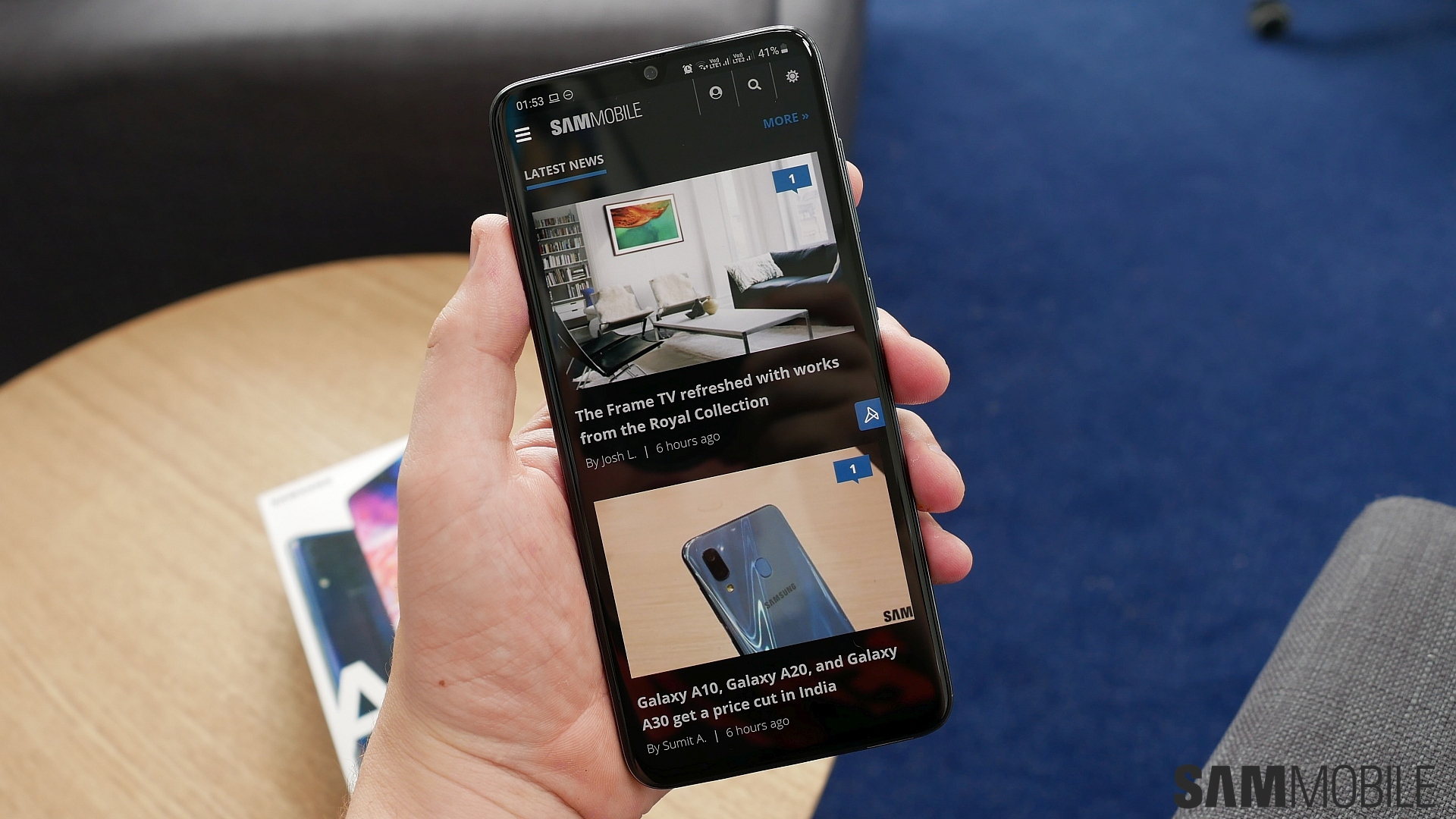 Samsung Galaxy A70 review: A media consumption powerhouse - SamMobile