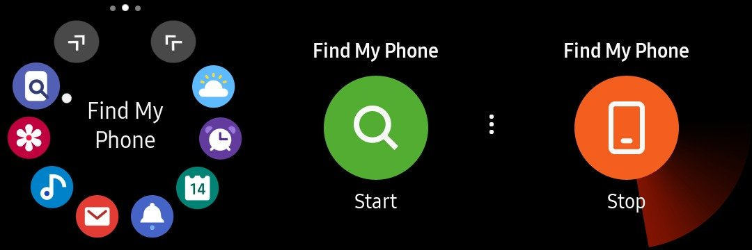 Can my Galaxy Watch find my phone? Of course it can! - SamMobile