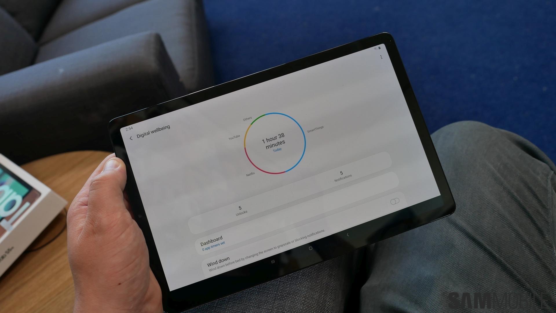 Samsung Tablet Phone App