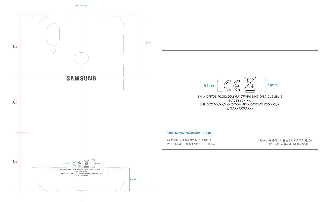 Galaxy A10s to sport fingerprint scanner and a dual camera
