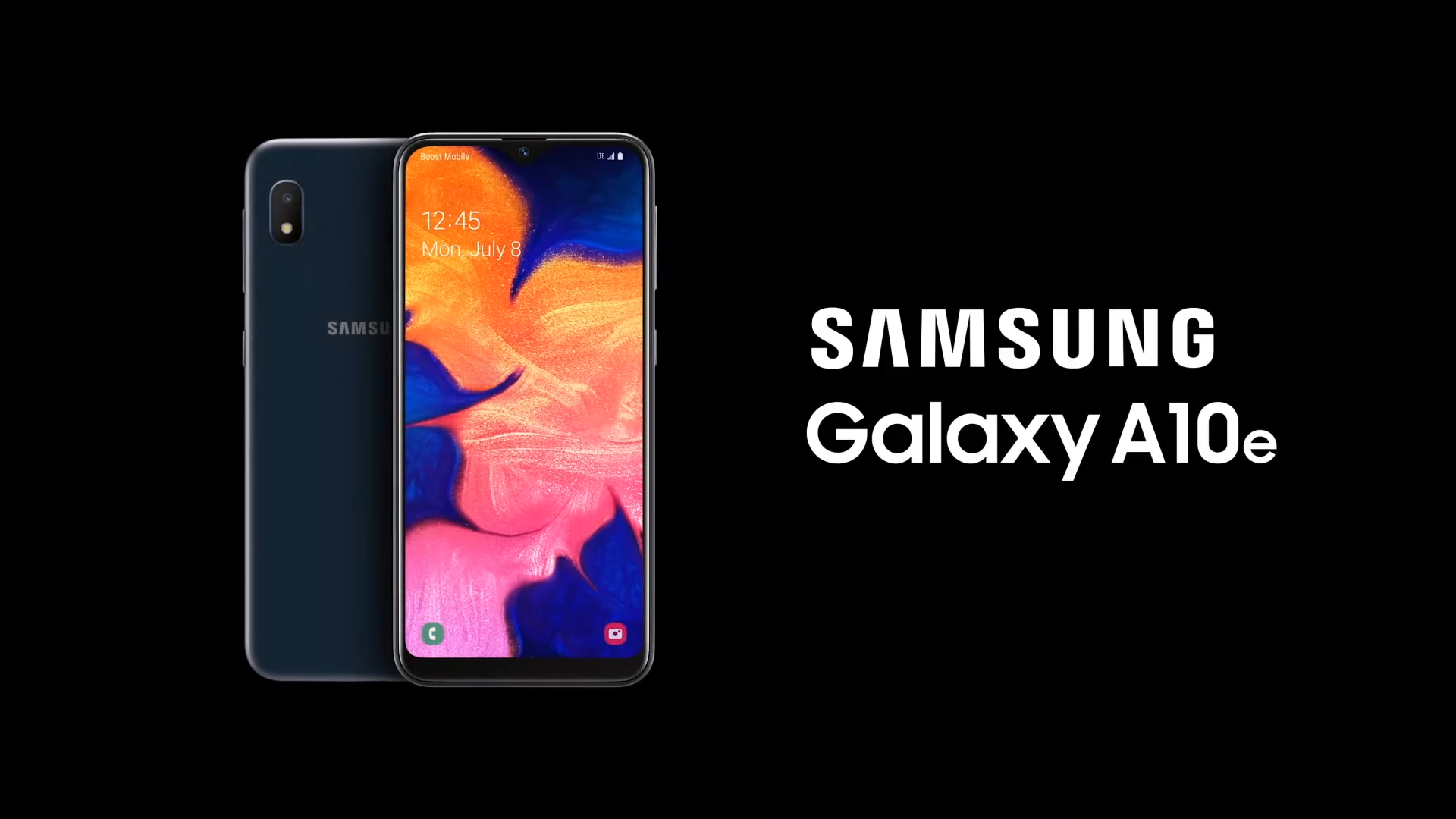 Galaxy A10e now available on Boost