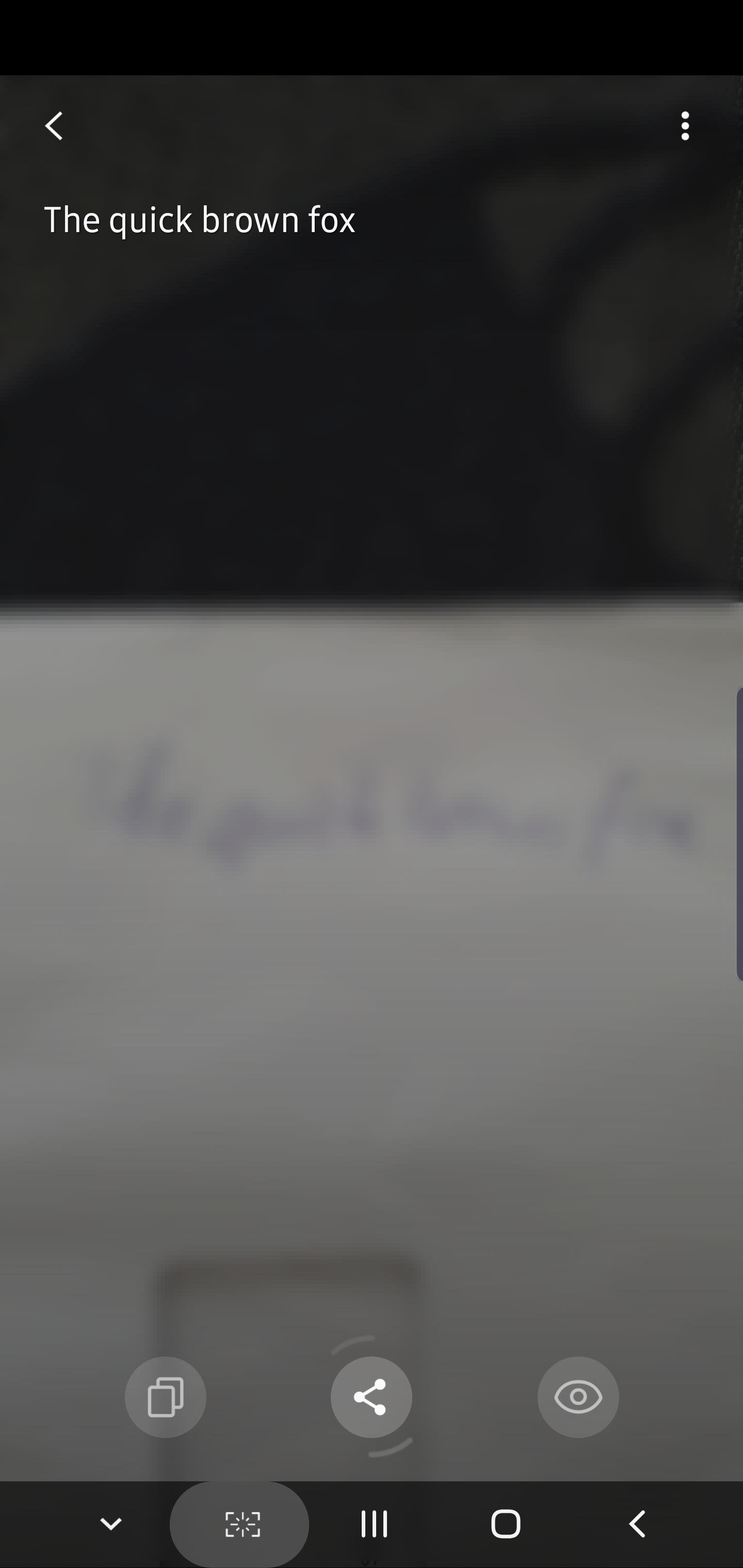 Samsung's CalliScan app converts handwritten notes to text