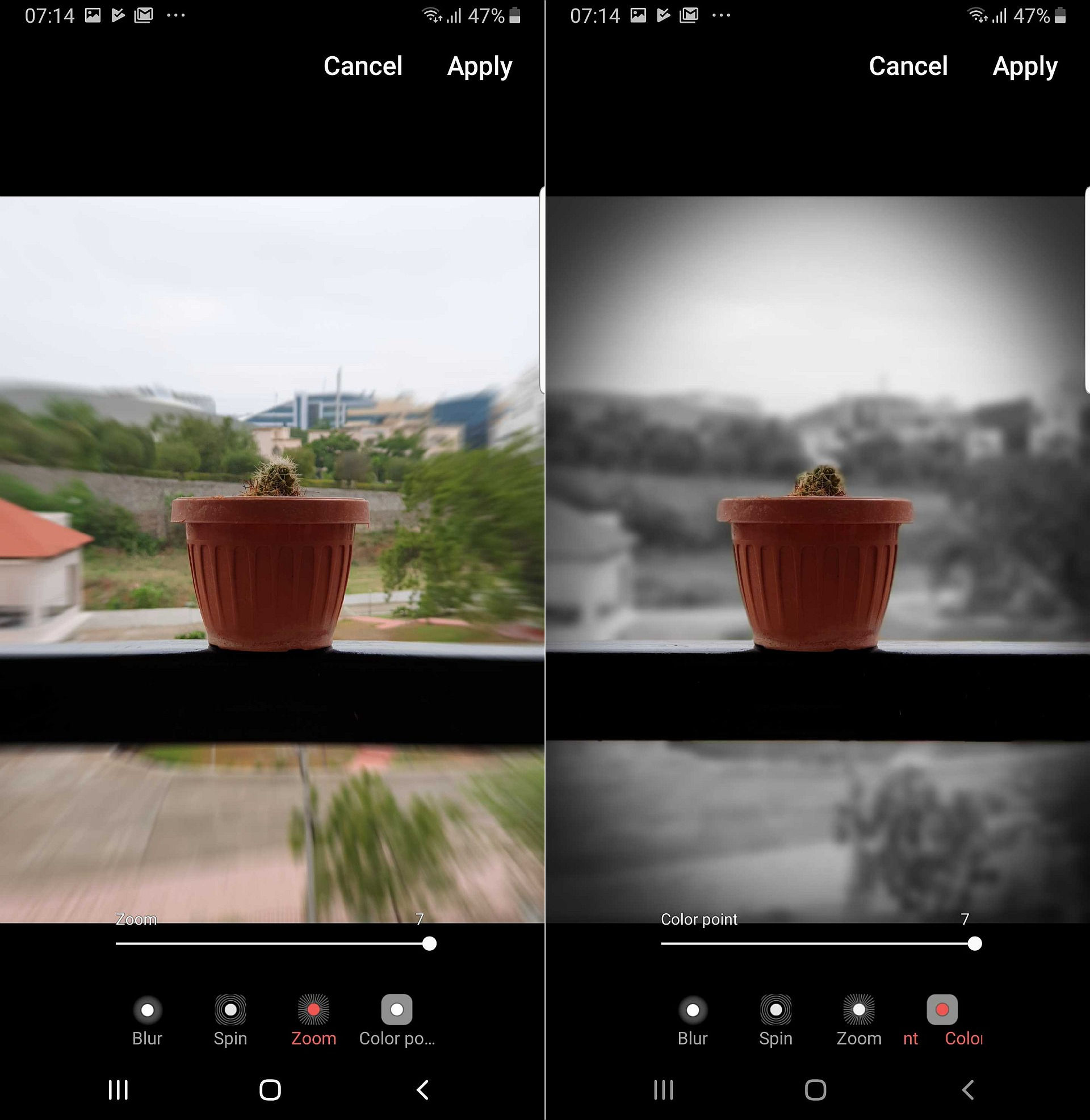 Galaxy S9 and Note 9 get Galaxy S10 Live Focus effects with