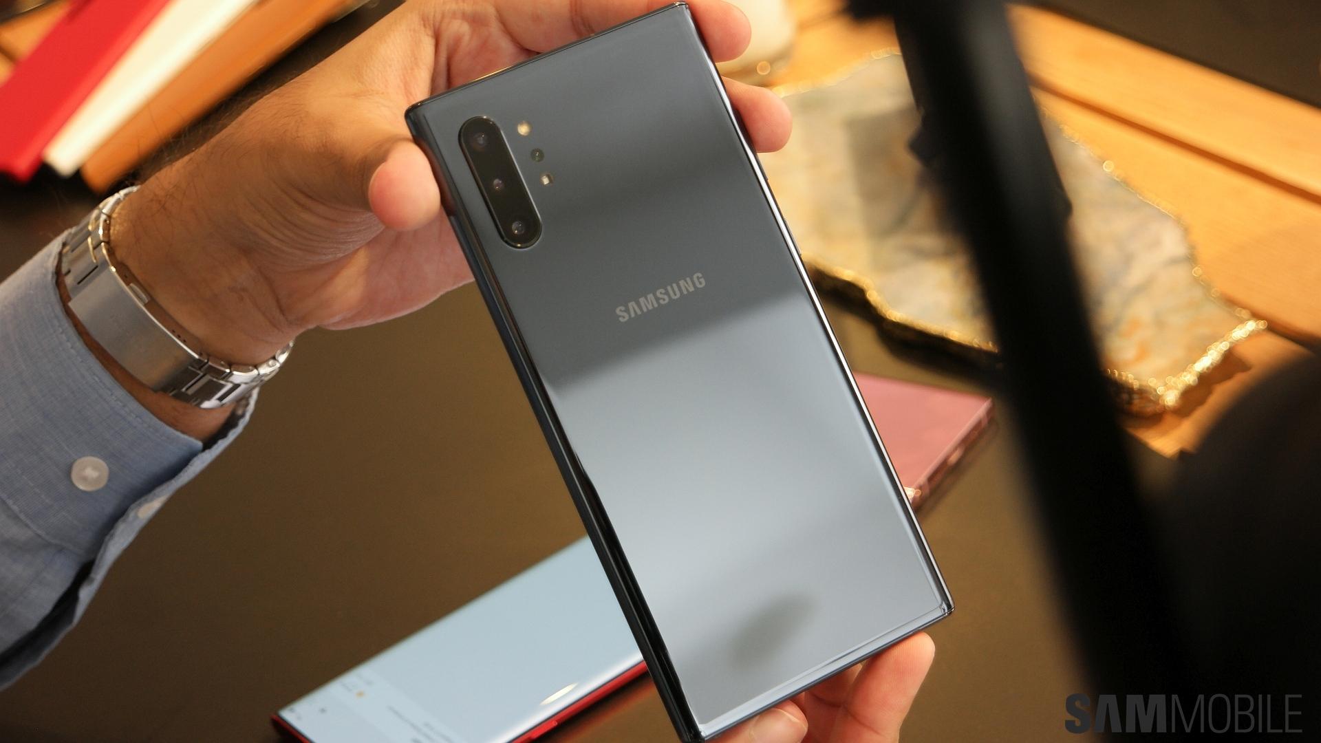 Galaxy S9/Galaxy S9+ vs Galaxy Note 10 vs Note 10+ specs comparison