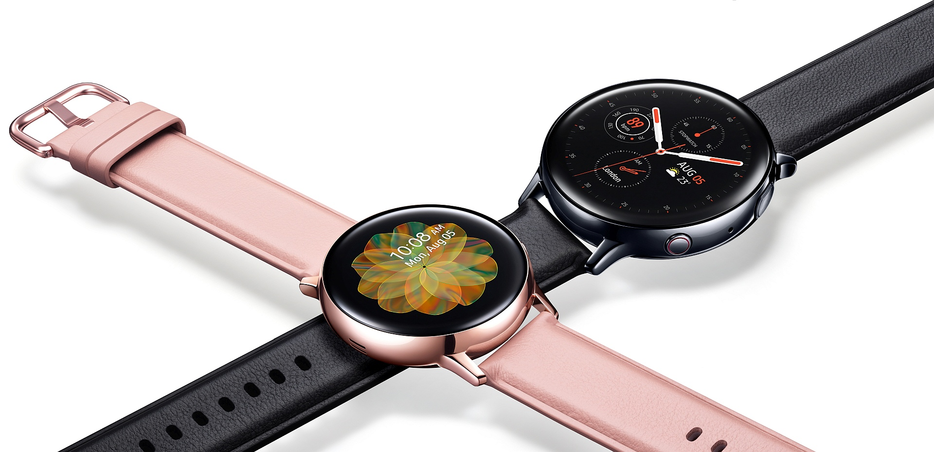 Galaxy Watch Active 2 goes official with touch bezel, new features