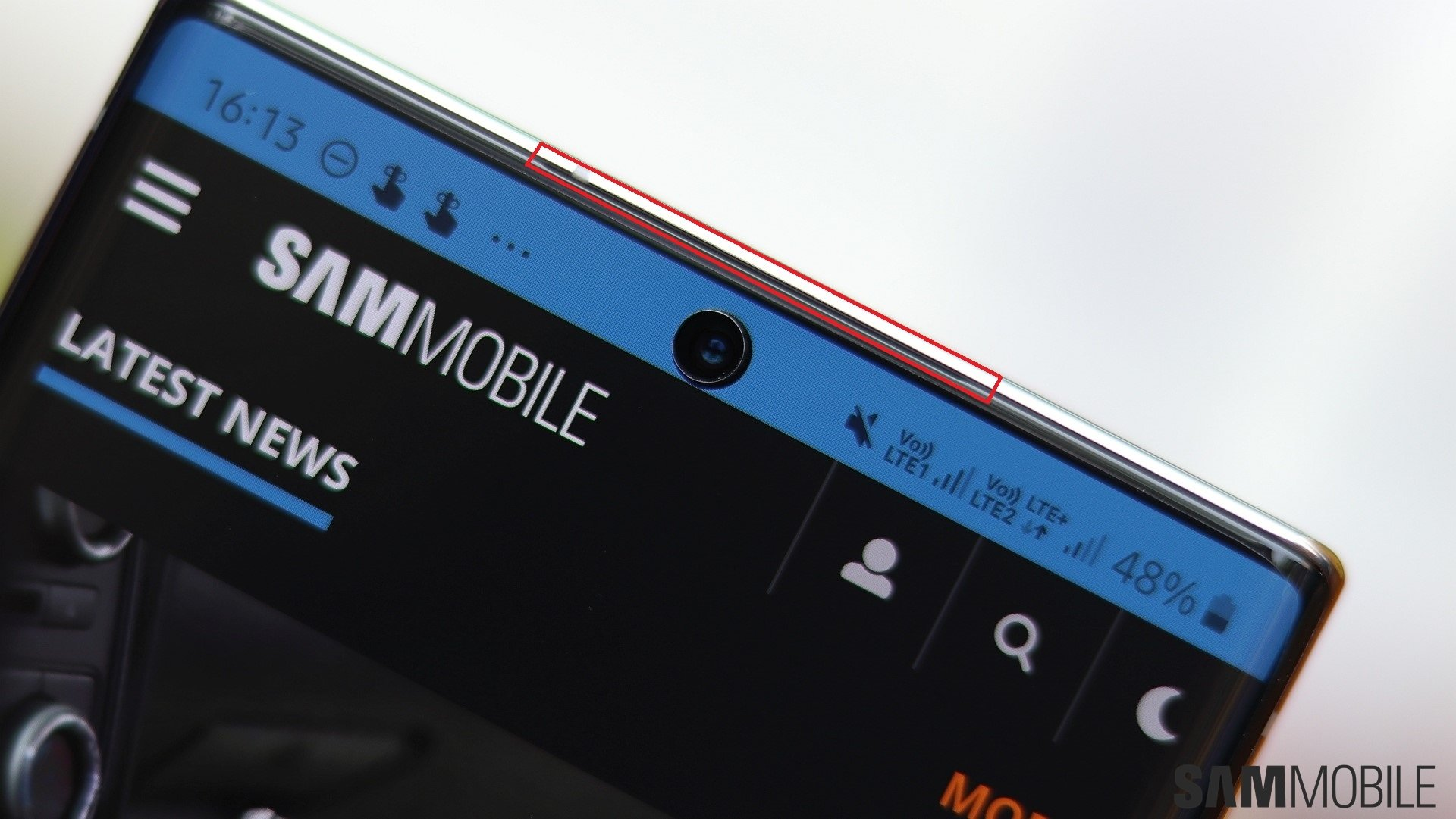 Hole On Top Of Galaxy Note 10 Isn T Exactly A Speaker Let Us Explain Sammobile