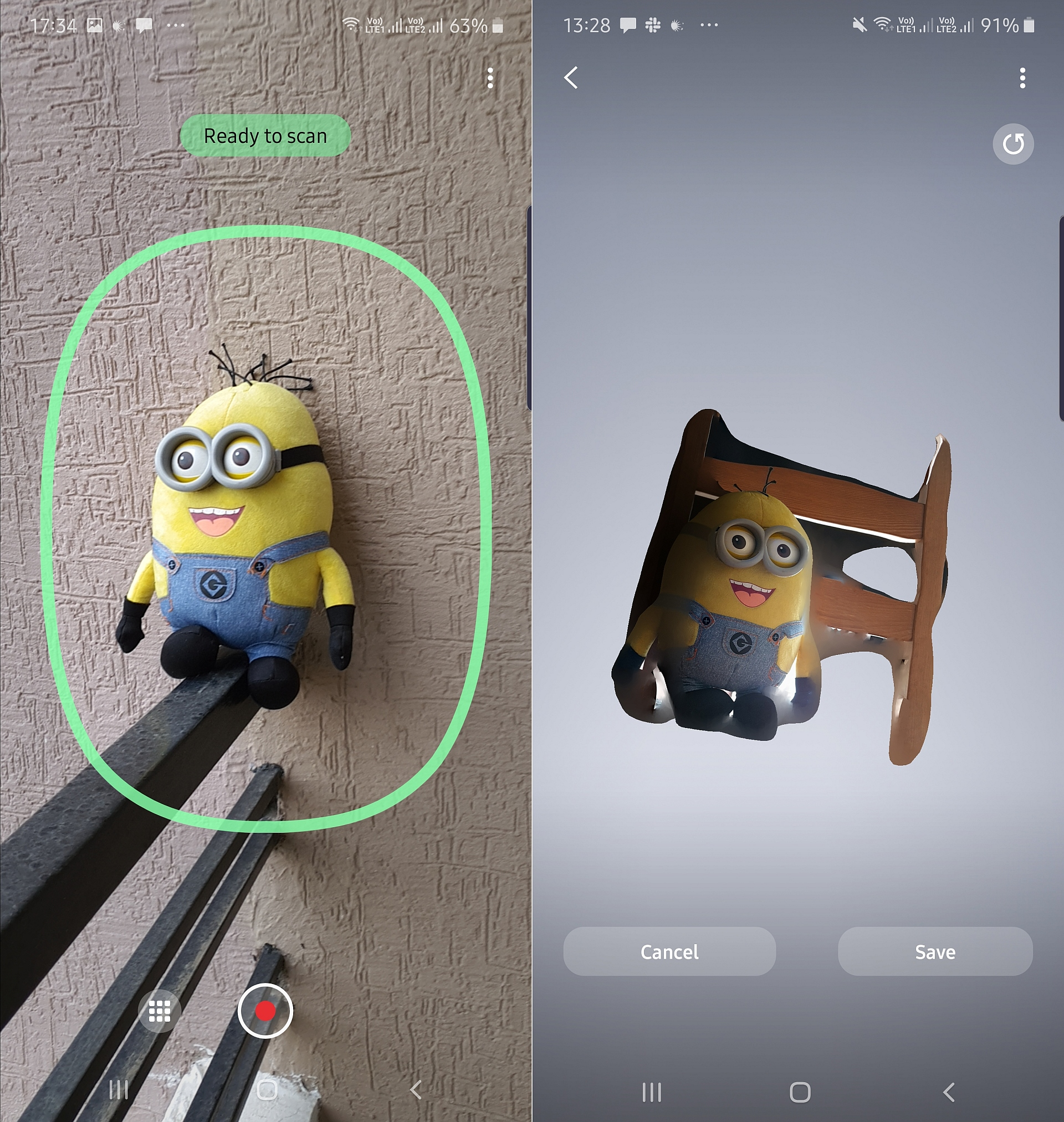 Galaxy Note 10+ 3D scanner app now available on the Galaxy