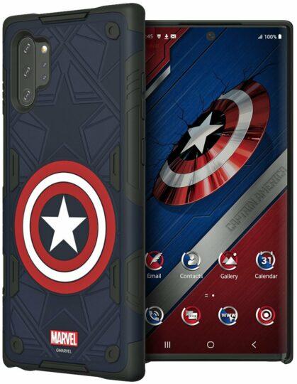 Galaxy Note 10 casos Marvel recebidos: Capitão América, Homem de Ferro e muito mais