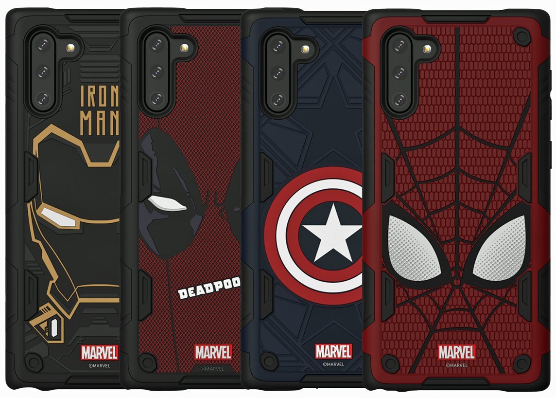 Galaxy Note 10 Marvel cases incoming: Captain America, Iron