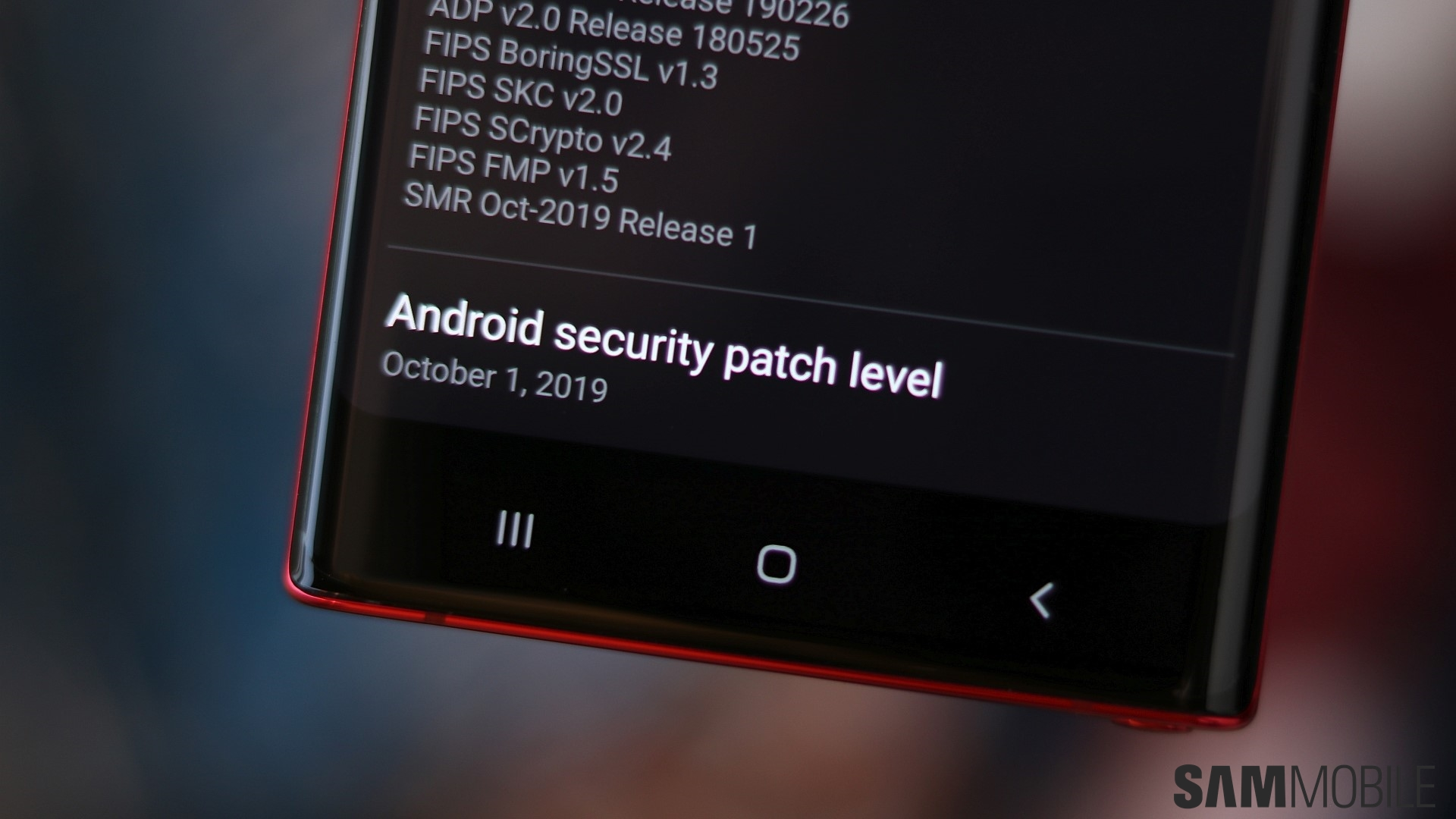 Galaxy Note 10 and Note 10+ get October security update