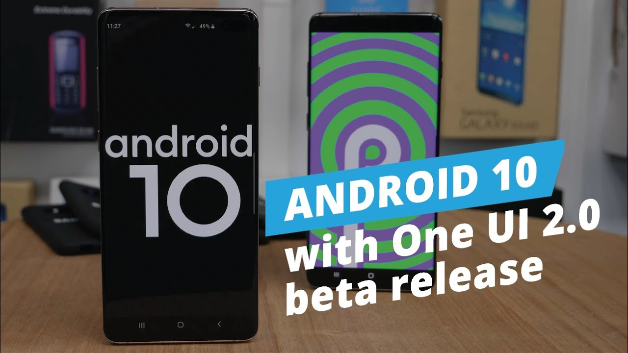 android 10 beta samsung