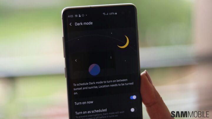 Galaxy Themes picks up Dark Mode in latest update - SamMobile