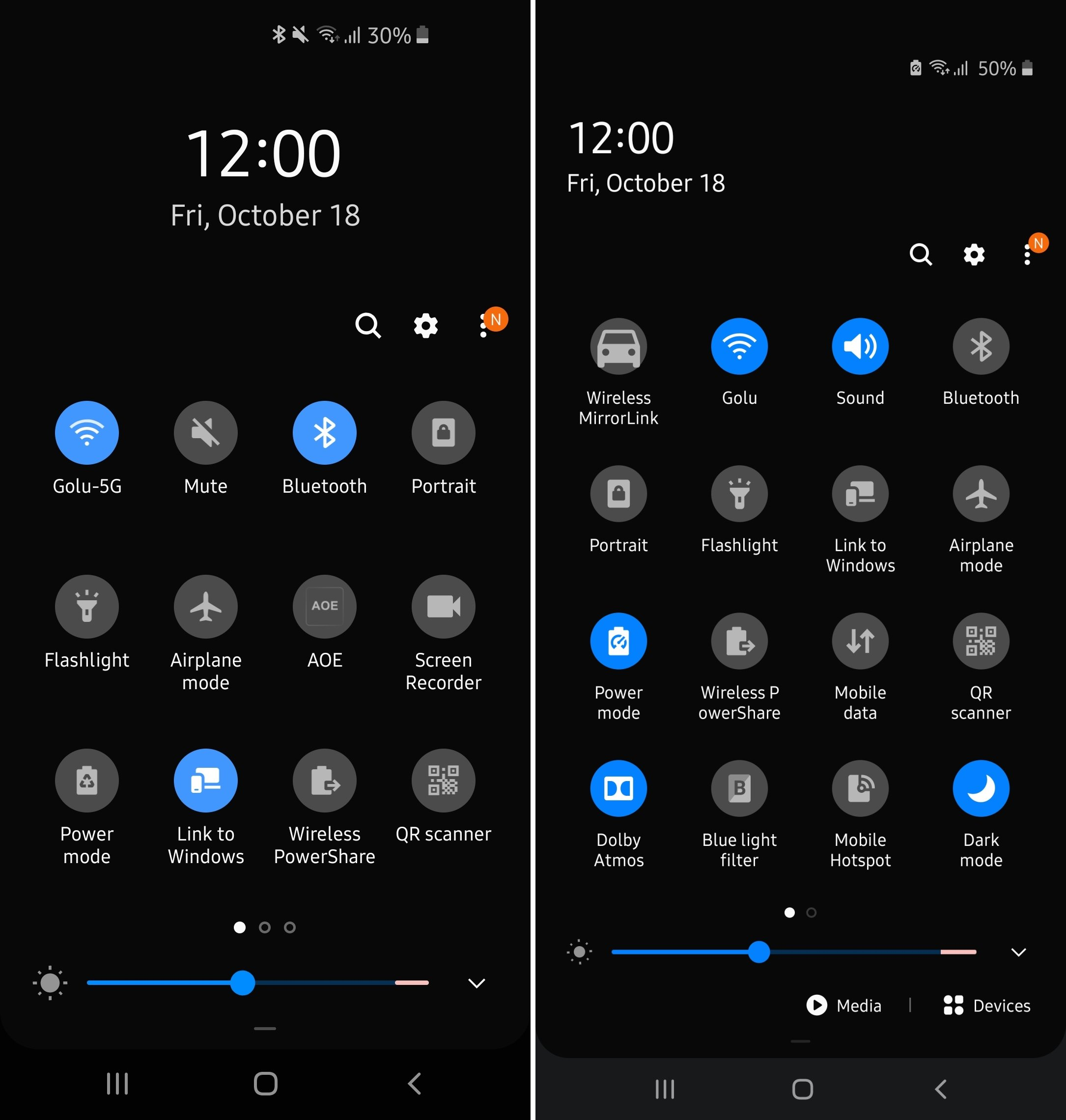 One Ui 1 X Vs One Ui 2 0 All The User Interface Changes And Improvements Sammobile