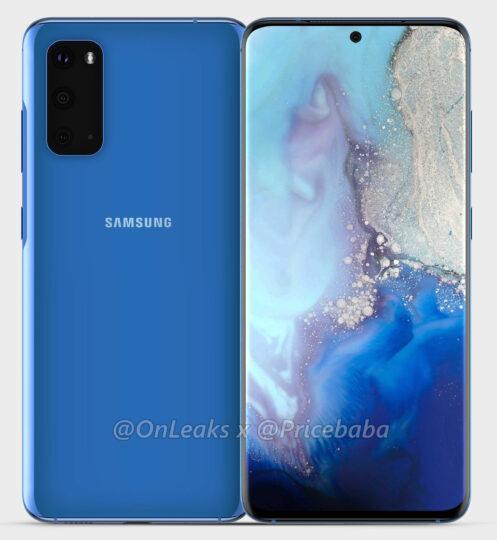 تسريب مواصفات وشكل الهاتف الاقتصادي Galaxy S11e