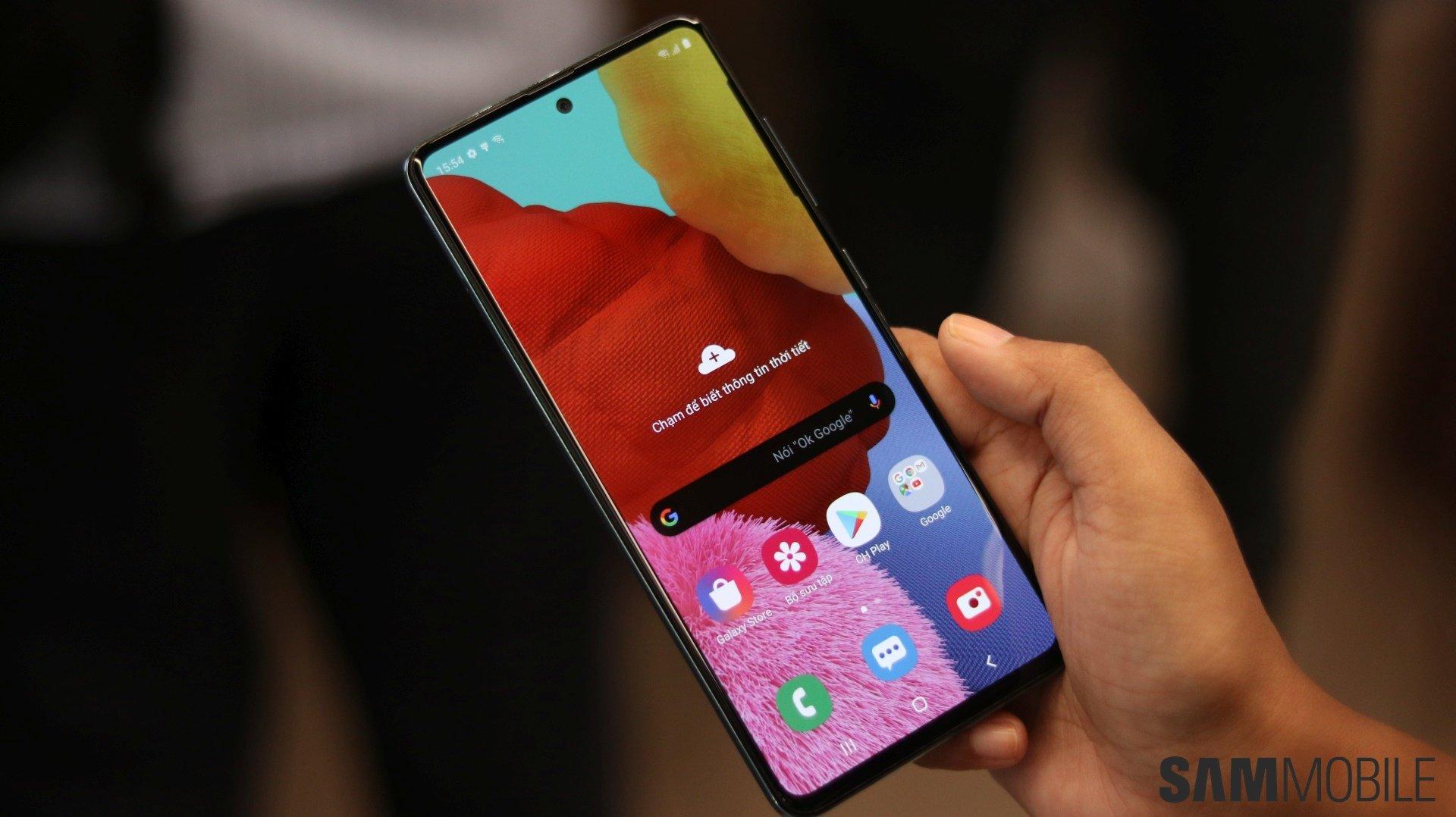 Samsung Galaxy A51 Sammobile