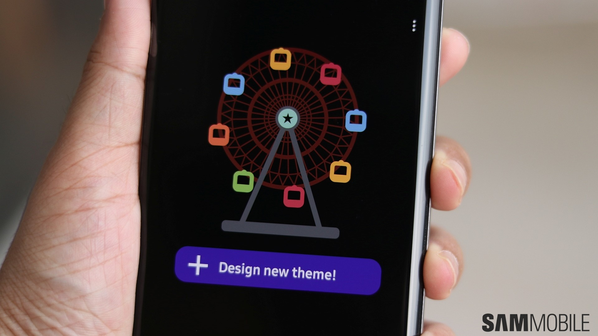 Samsung's newest app lets you create your own themes   SamMobile