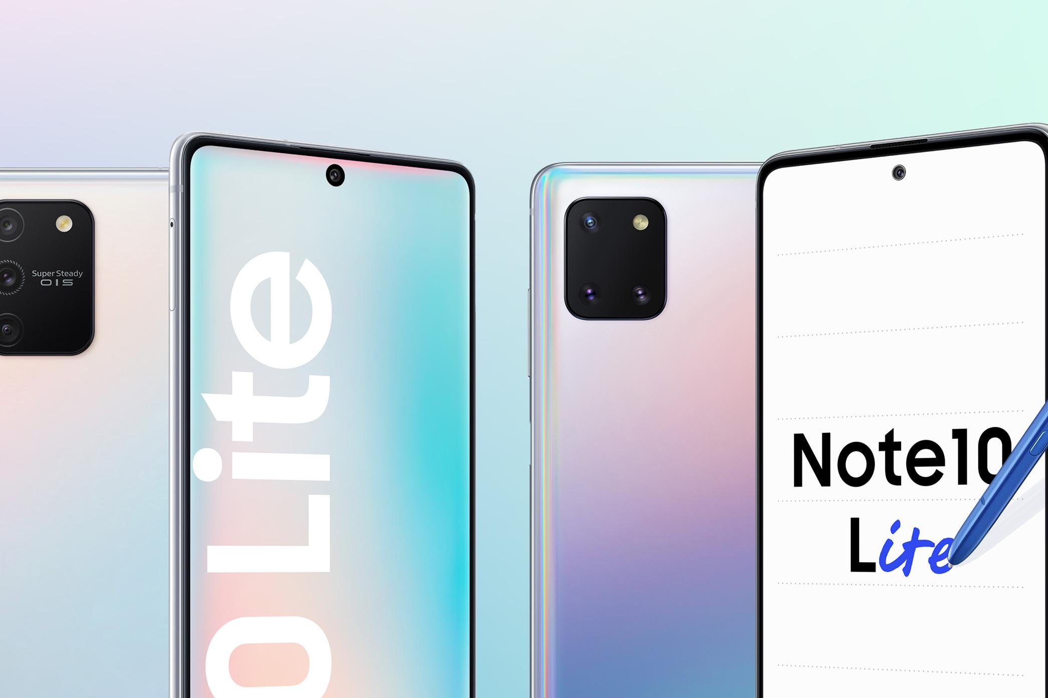 Galaxy S10 Lite vs Galaxy Note 10 Lite: How do the specs compare? -  SamMobile