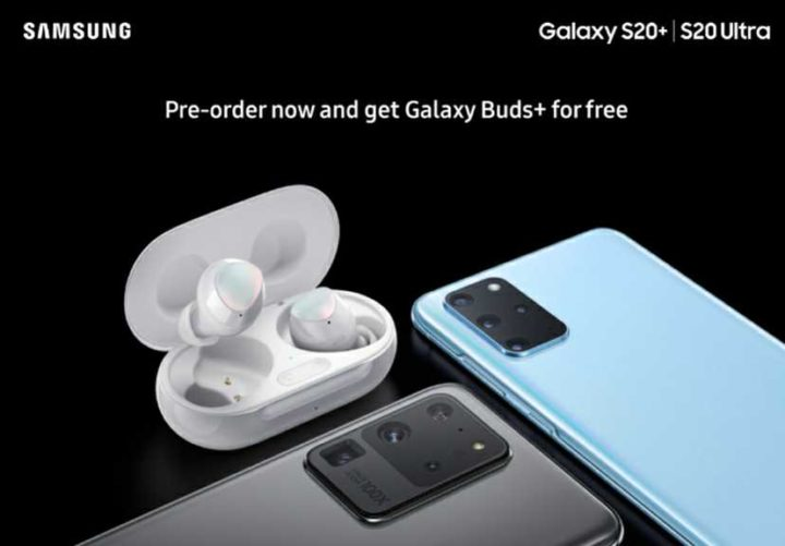 free galaxy buds with galaxy s20
