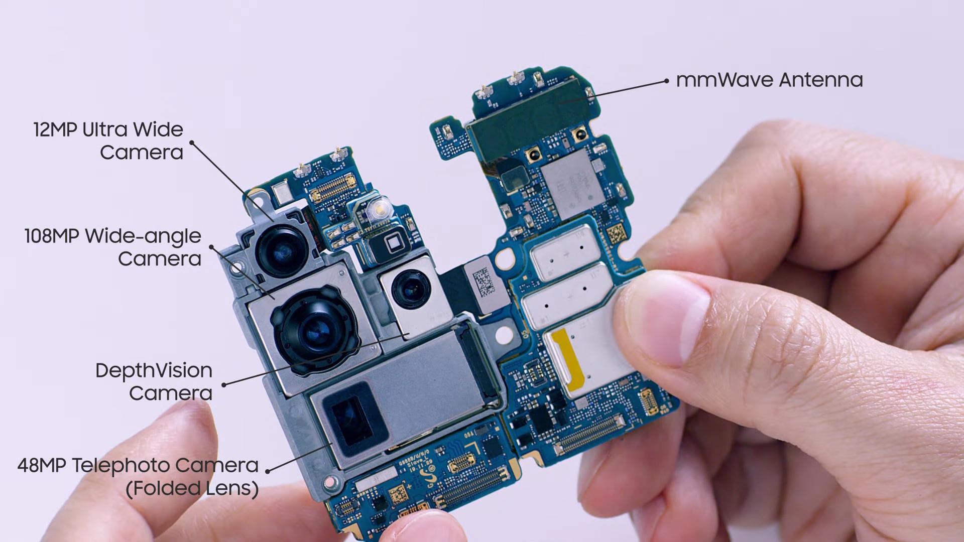 Galaxy S20 Ultra assembly 2