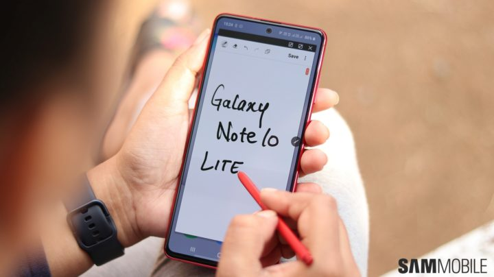Samsung Galaxy Note 10 Lite review: Get it for the S Pen