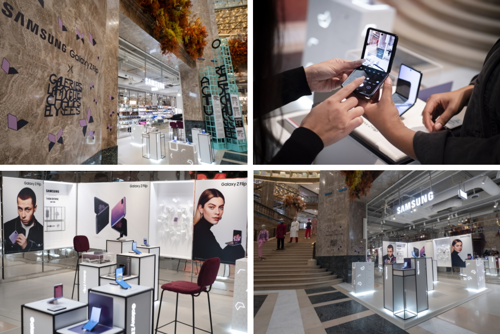 Galaxy Z Flip made waves at the fashion week trifecta after launch