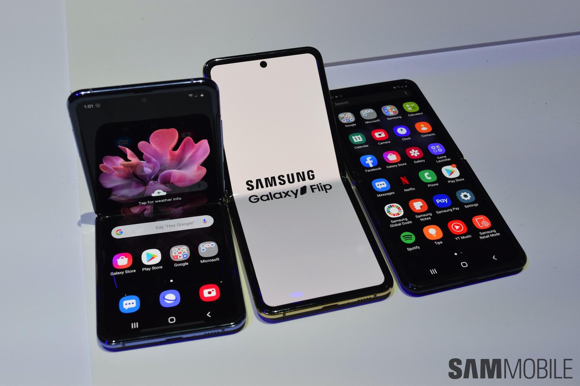 Galaxy Z Flip Sammobile