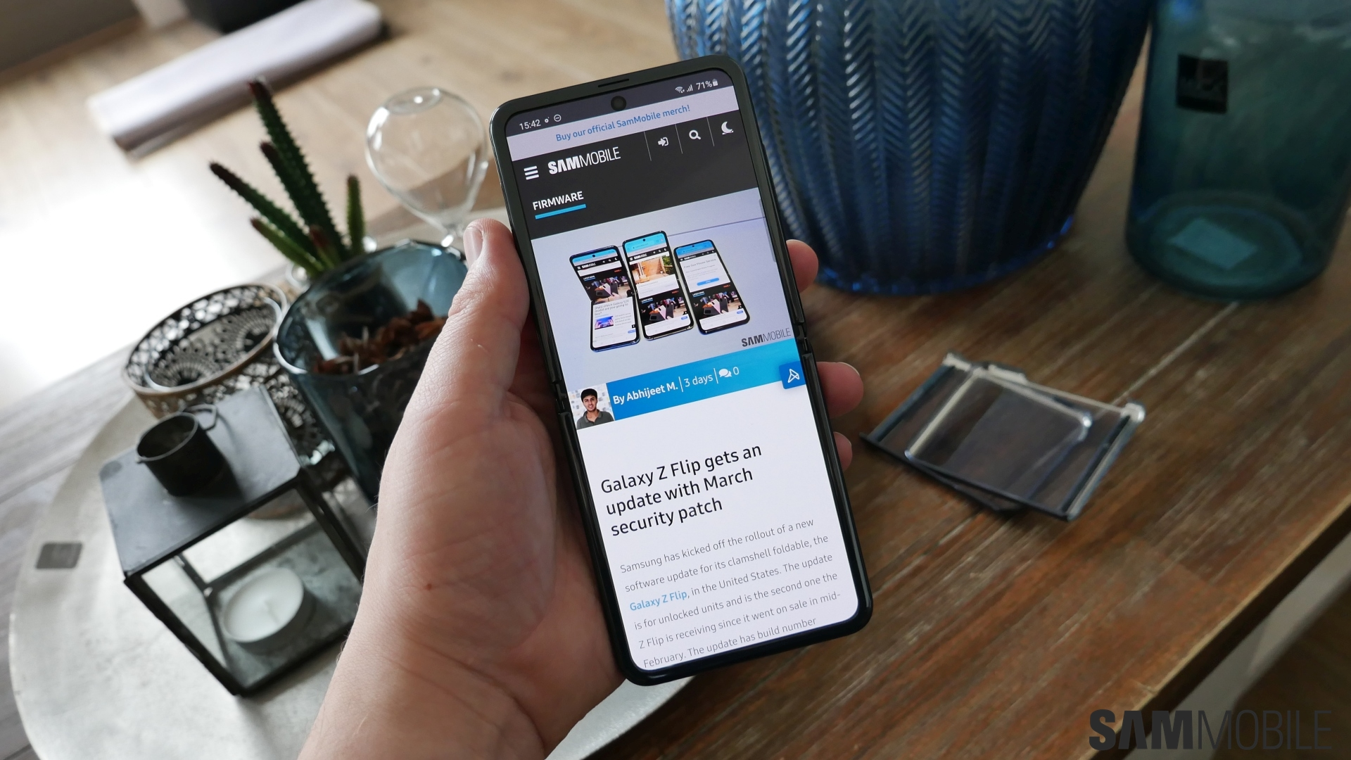 Samsung Galaxy Z Flip Review Flipping The Script With Style And Substance Sammobile