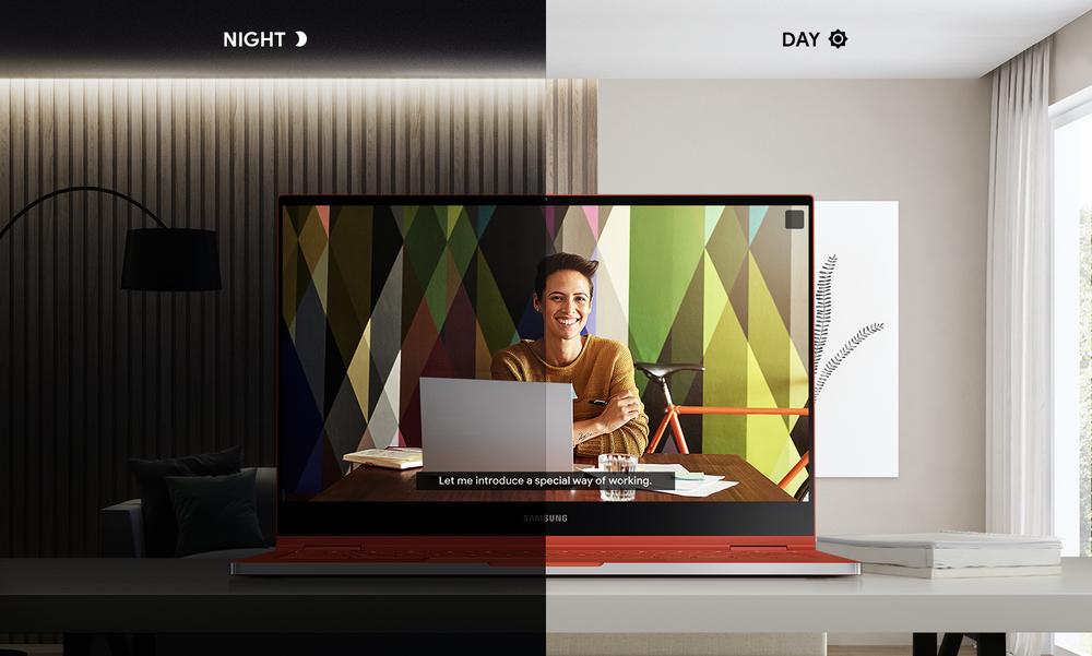 Samsung Galaxy Chromebook Ambient EQ