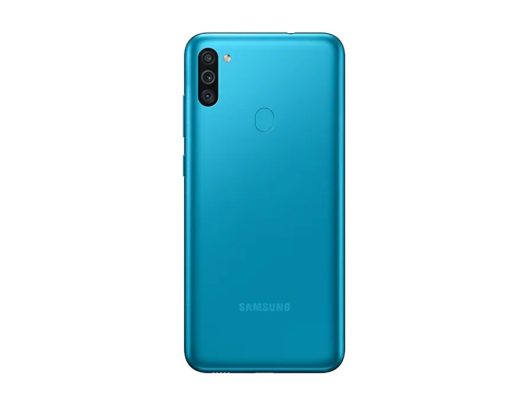 Samsung Galaxy M11 Rear Blue